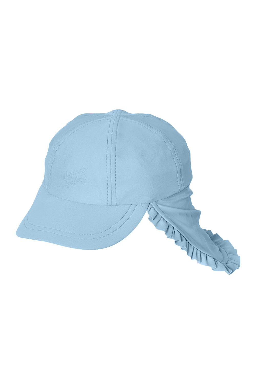 Seafolly Kids Beach Flyer Hat - Cornflower Blue