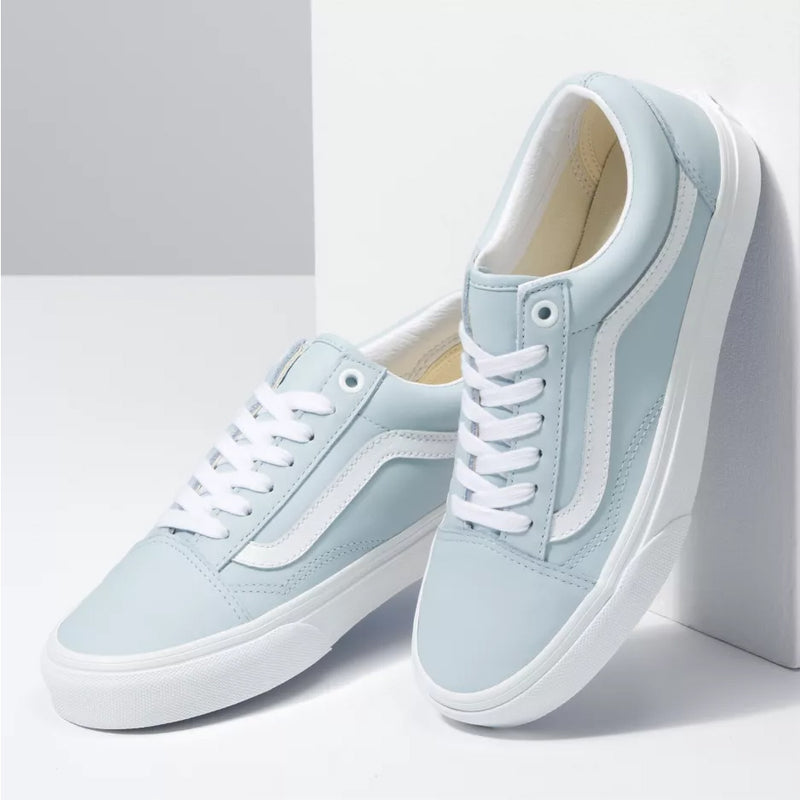 Vans Old Skool Leather - Ballad Blue/White