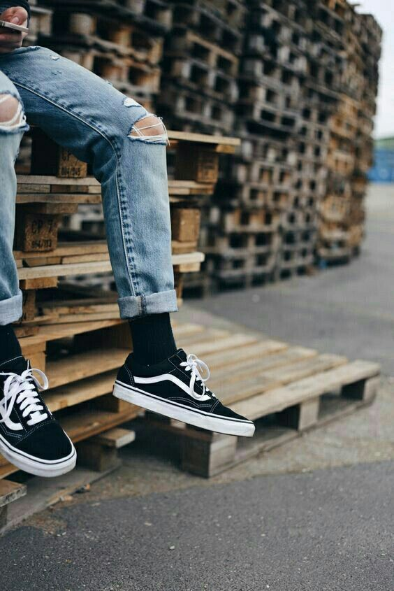 Vans Old Skool - Black/White