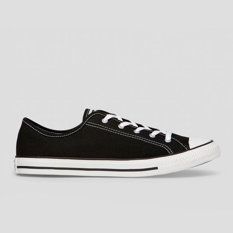 Chuck Taylor All Star Dainty Basic Canvas Low Top - Black