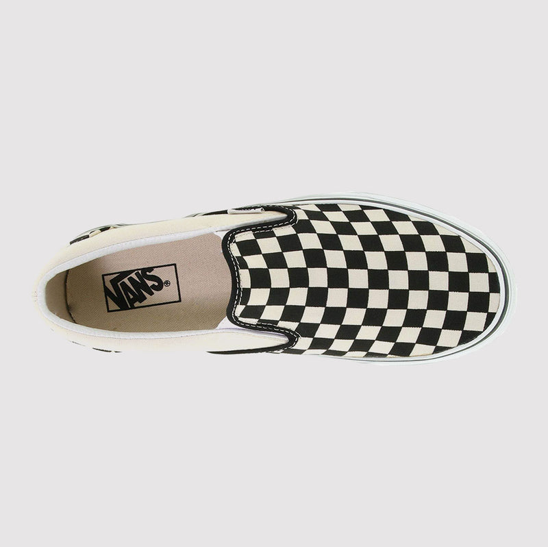 Vans Classic Slip On Checkerboard - Black/White