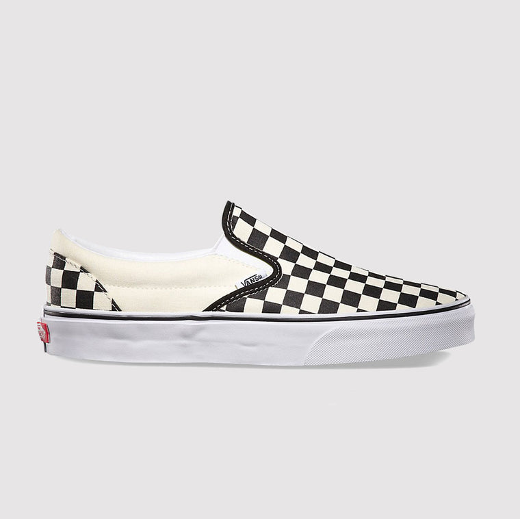 Womens Classic Slip On Checkerboard Vans at GOALS Arrowtown, NZ