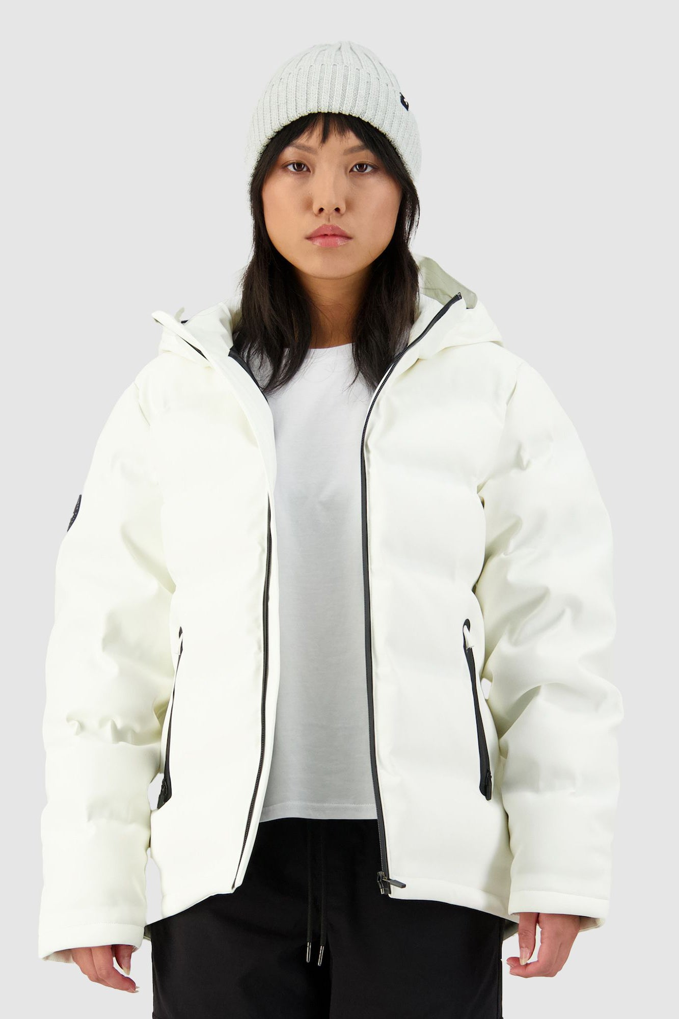 Huffer Womens Superdown Jacket - Winter White