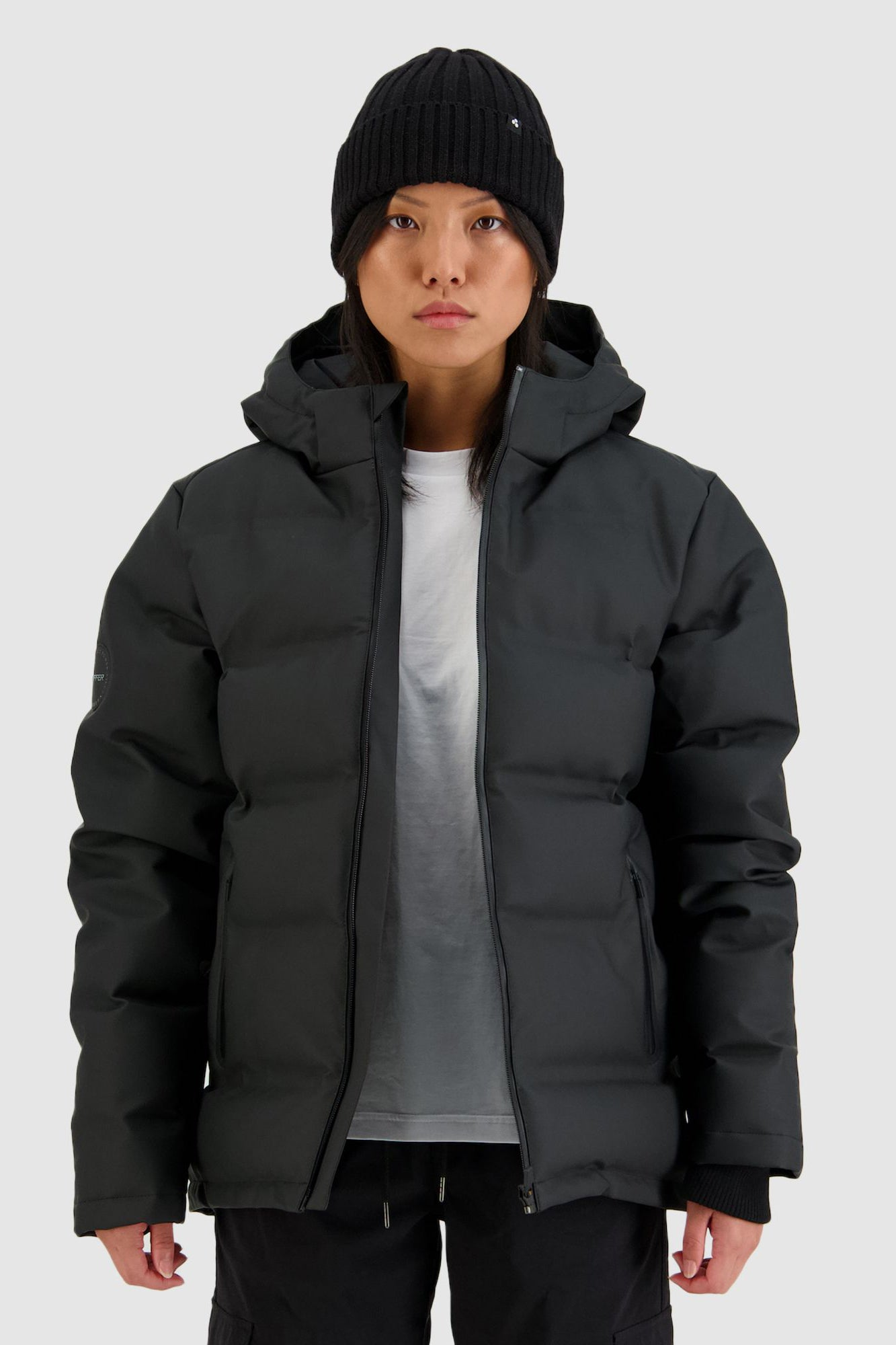 Huffer Womens Superdown Jacket - Black