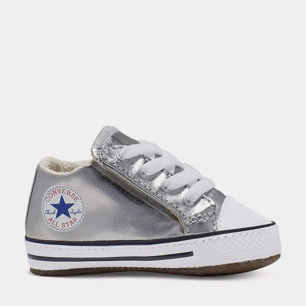 Infant Chuck Taylor All Star Cribster Mid - Metallic Granite