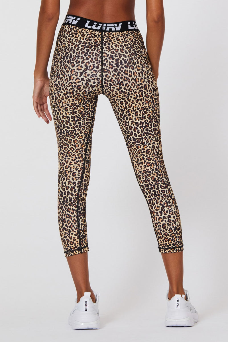 L'urv Centre Charge 7/8 Legging - Leopard