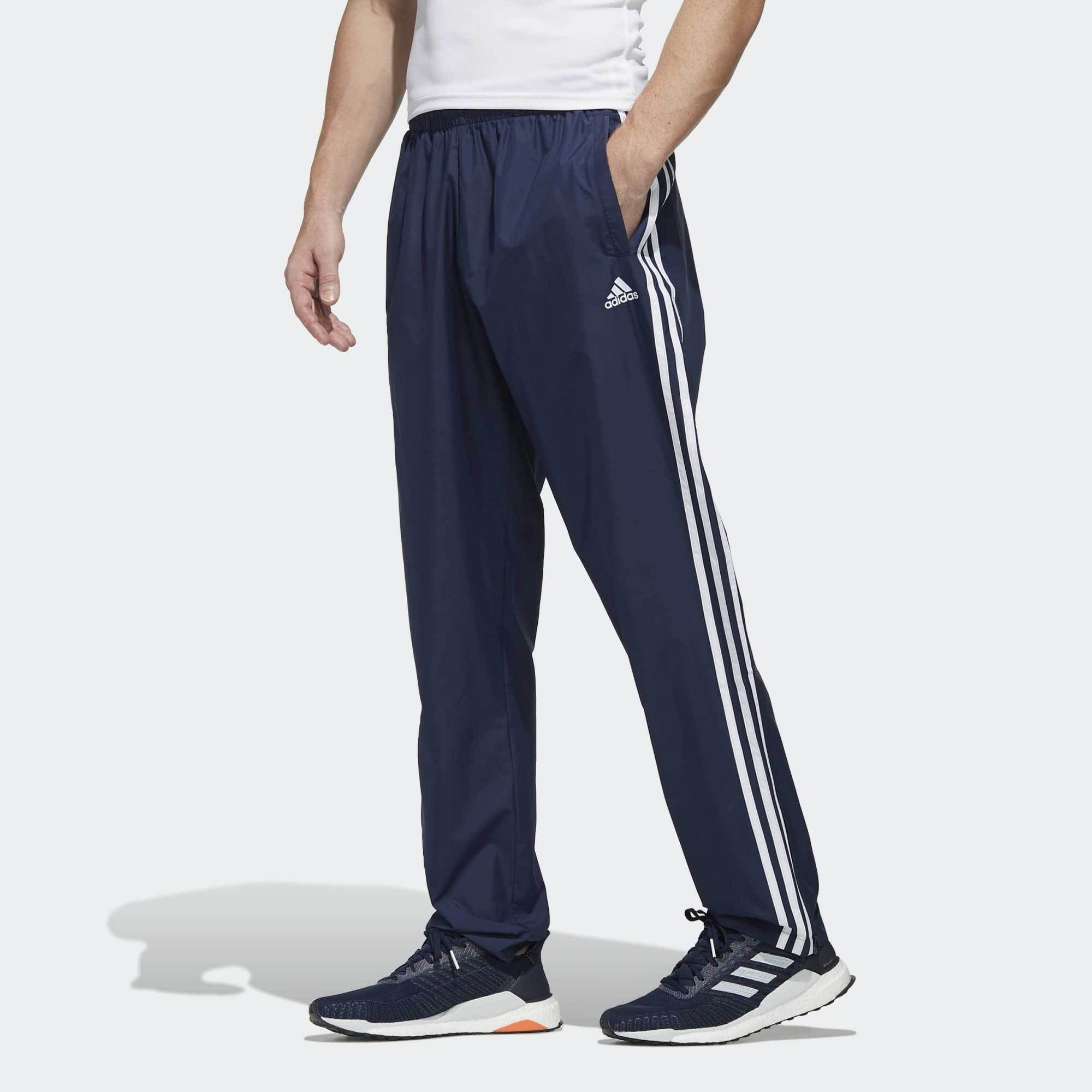 Badge Of Sport 3-Stripes Wind Pant Navy | Shop Adidas Online NZ