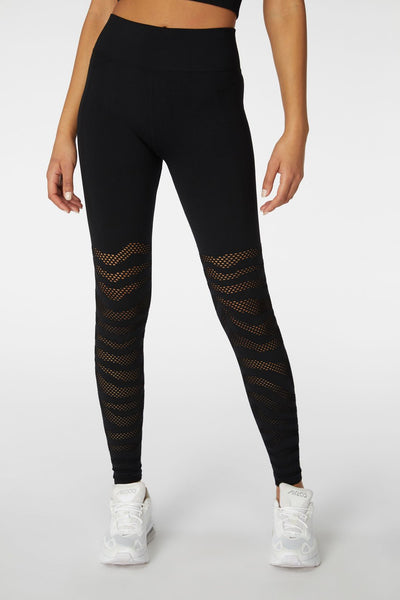 L'urv Cosmos Seamless Legging - Black | Shop L'URV at GOALS NZ
