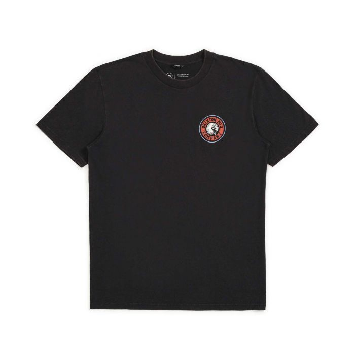 Brixton Men's Rival II S/S Standard Tee - Black/Red