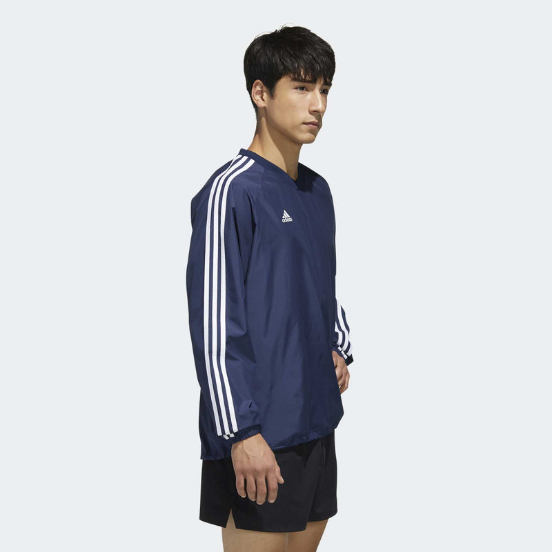 Badge Of Sport 3-Stripes Wind Top - Navy