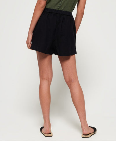 Superdry Mia Culotte Shorts - Black