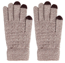 Arctic Paw Men's 3 Finger Touchscreen Sensitive Knit Winter Gloves