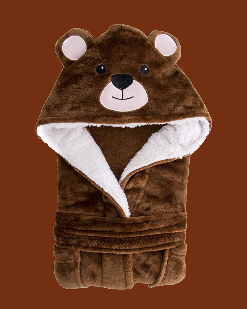 Arctic Paw Kids Boys Girls Beach Cover Up Theme Party Costume, Bear Brow