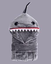 Arctic Paw Kids Boys Girls Beach Cover Up Theme Party Costume, Shark Grey