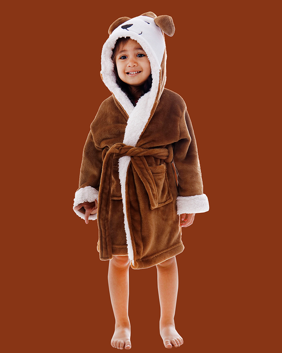 Arctic Paw Kids Boys Girls Beach Cover Up Theme Party Costume, Puppy Brow