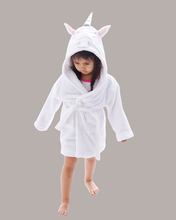Arctic Paw Kids Boys Girls Beach Cover Up Theme Party Costume, Unicorn White