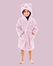 Arctic Paw Kids Boys Girls Beach Cover Up Theme Party Costume, Pig Pink