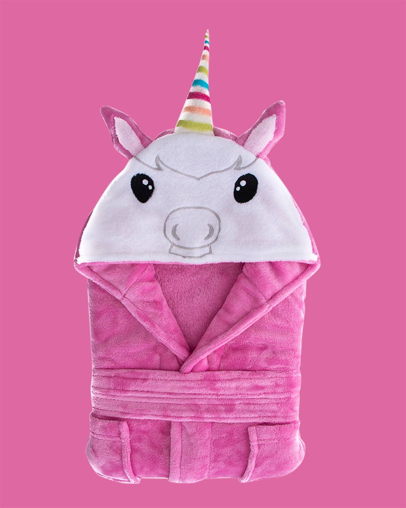 Arctic Paw Kids Boys Girls Beach Cover Up Theme Party Costume, Unicorn Pink
