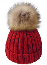 Arctic Paw Boys Girls Kids Knit Beanie with Pompom Toddlers Winter Hat Cap