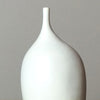 White & Black Stem Vase