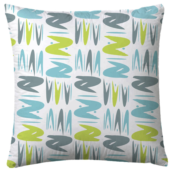 Turquoise & Lime Pillows