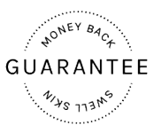 Swell Skin Money Back Guarantee Badge - Result Satisfaction Guaranteed