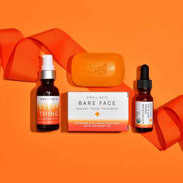 The HYDRATE & FIRM Kit with Organic  Sea Buckthorn Oil