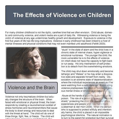 Effects of Violence