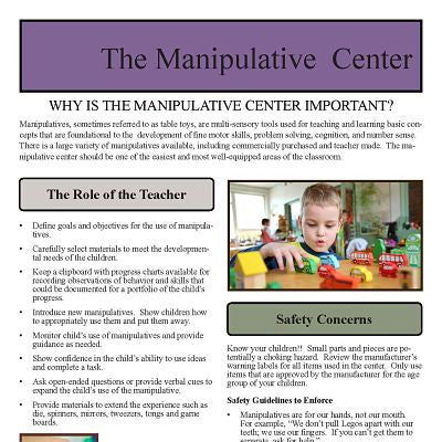 Manipulative Center