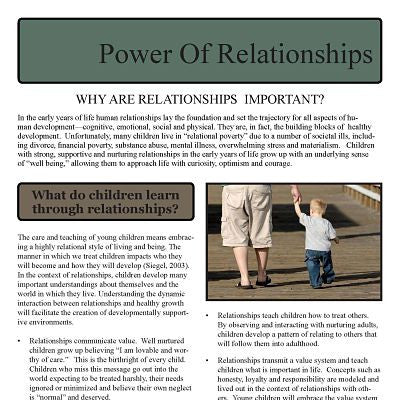 Power of Relationships