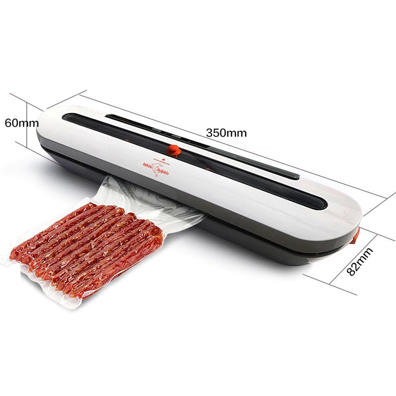 WhiteDolphin Food Vacuum Sealer Best Portable Food Saver Machine