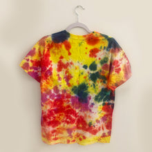 1/1 Up in Smoke Tee (Yellow, Red, Pink, Blue Dye, Medium)