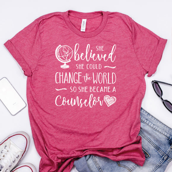 School Counselor Shirts