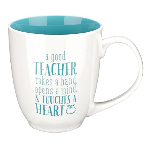 Blessings to the Teacher Coffee Mug - Blue