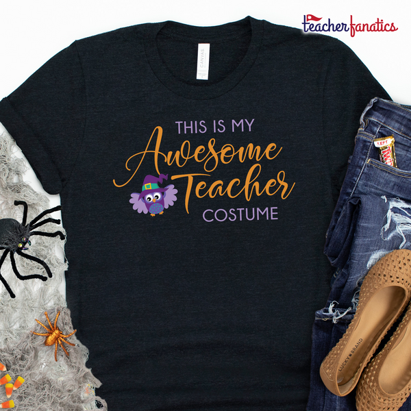 Awesome Teacher Funny Halloween Shirt