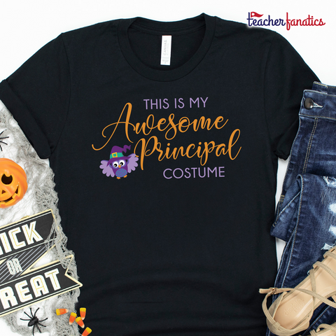 Awesome School Principal Funny Halloween Shirt