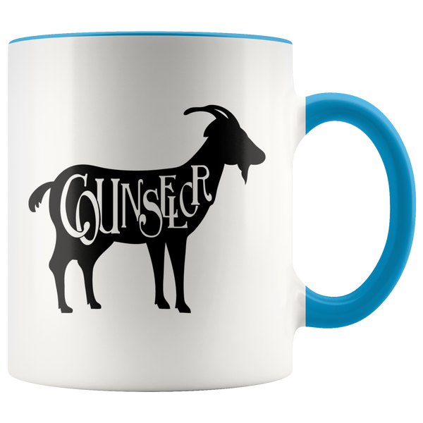 GOAT Counselor Coffee Mug (Greatest Of All Time)