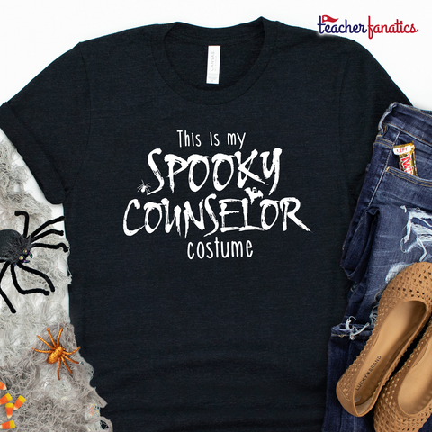 This is My Spooky Counselor Costume Funny School Counselor Halloween Shirt