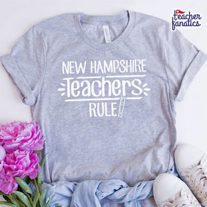 New Hampshire Teachers Rule! - State T-Shirt