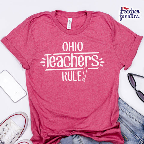 Ohio Teachers Rule! - State T-Shirt
