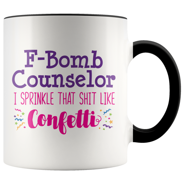 F-Bomb Counselor Coffee Mug
