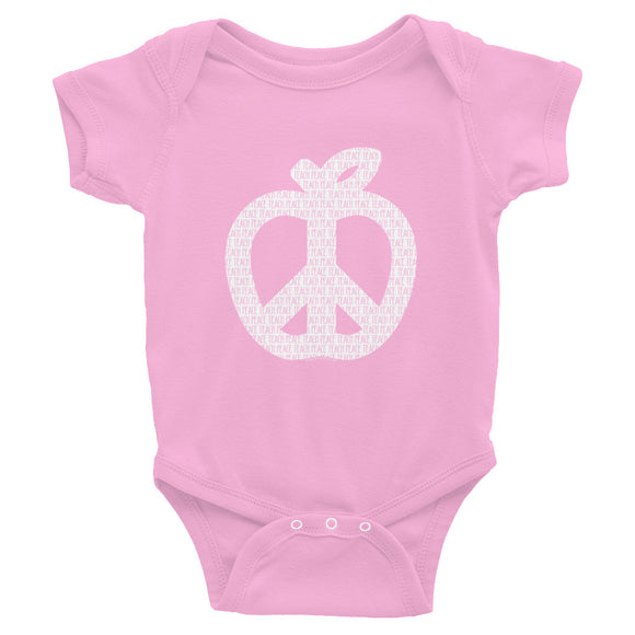 Teach Peace Onesie