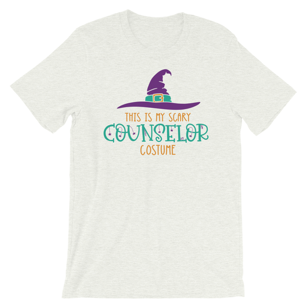 This is My Scary Counselor Costume Funny School Counselor Halloween Shirt