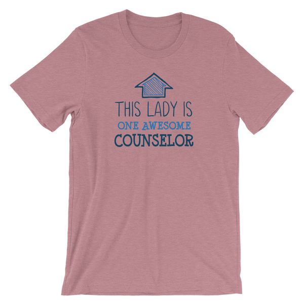 This Lady is One Awesome Counselor Shirt