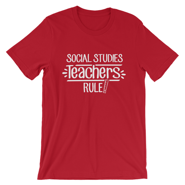 Social Studies Teachers Rule! Shirt