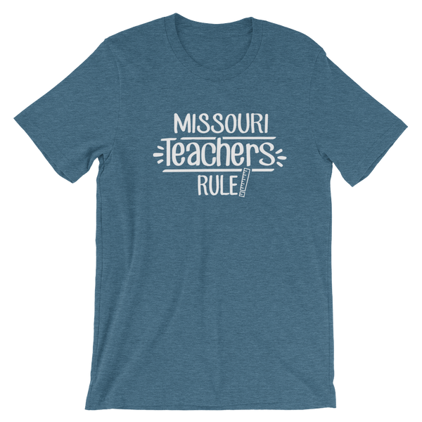 Missouri Teachers Rule! - State T-Shirt