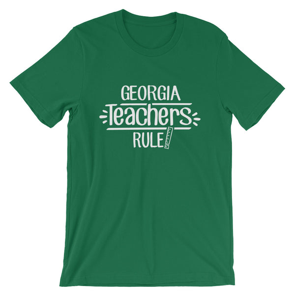 Georgia Teachers Rule! - State T-Shirt