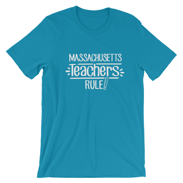 Massachusetts Teachers Rule! - State T-Shirt