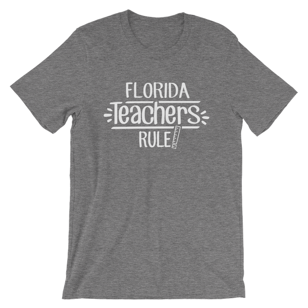Florida Teachers Rule! - State T-Shirt