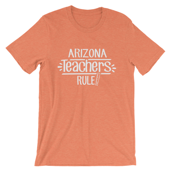 Arizona Teachers Rule! - State T-Shirt